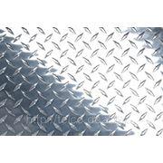 Лист алюминиевый рифленый АМг2(3) НР фото