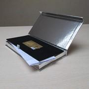 Упаковка для подарочных сертификатов и карт фото