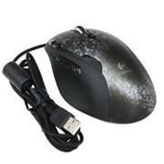 Мышь Logitech G500, Laser, 5700dpi, Right Hand, 10кн, USB, Silver-Black 910-001263 фото