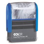 Штамп COLOP Printer 40 + клише фото