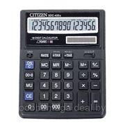 Калькулятор настольный 16р CITIZEN SDC-435N фото