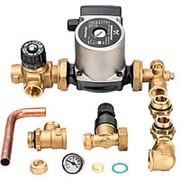 STOUT Насосно-смесительный узел с термостатическим клапаном и байпасом; Grundfos UPSO 25-65 130 фото
