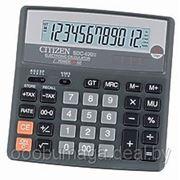 Калькулятор настольный 12р CITIZEN SDC-620II фото
