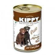 Паштет для собак KIPPY, ягненок и рис 400 г фото