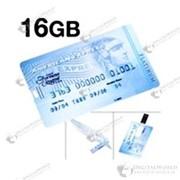 Флеш карта в виде кредитки American Express 16 Гб фото