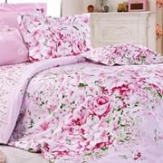 Белье постельное из сатин-твила Нежно розовое фото