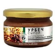 Урбеч, паста шоколадно - ореховая (какао - кешью), 230г фото