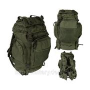 Рюкзак тактический MFH, 55 л, черный и олива фото