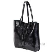 Женская сумка 8277 Black кожа фото