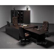Угольные столы для офиса в Минске фото