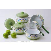 Посуда эмалированная фото