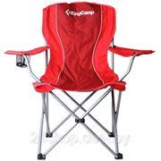 Кресло складное KingCamp арт. 3818 Arms Chair (красный) фото