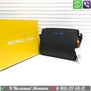 Черная Сумка Michael Kors Selma Mini Майкл Корс клатч фото