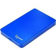 Корпус для HDD 2.5 SATA Gembird EE2-U2S-40P-B до 750 Гб, USB 2.0 контейнер, синий фото
