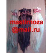 Волосы натуральные Узбекские от-30см до-100см фото
