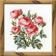 Набор для вышивания Садовые розы фото