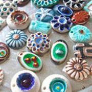 Изделия керамические с украшением фото