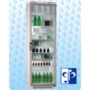 """Холодильник фармацевтический ХФ-400-1-""""ПОЗИС"""" со стеклянной дверью и замком (400л) фото"""