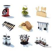 товары для кухни (контейнеры для холодильника и микроволновой печи подносычашка хлебница кухонный набор для специй) фото