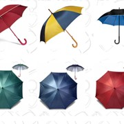 Промо-зонты, печать на зонтах фото