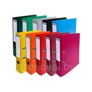 Папка-регистратор ПВХ/бумага А4 7,5 см.,KORONA мет.окантовка, цв.ассорти фото