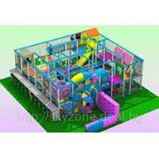 Детский игровой лабиринт 950х950х280 фото