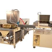 Автоматическая линия производства бисквитных кекс фото