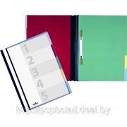 Папка скоросшиватель «Durable» с 5 отделениями фото