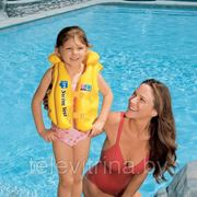 """Надувной жилет для обучения плаванию """"Deluxe Swim Vest"""" Intex-58660 фото"""