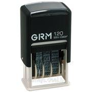 Мини-датер GRM 120 (месяц буквами) 3мм фото