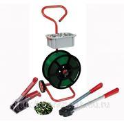 Упаковочный инструмент для обвязки полиэстеровыми (ПЭТ) лентами фото
