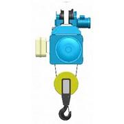 Канатный электротельфер серии MТ. С монорельсовой тележкой нормальная строительная высота фото