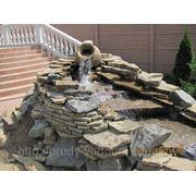 Строительство прудов,водоемов,фонтанов фото