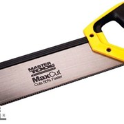 Ножовка пасовочная 325 мм, 12TPI MAX CUT, каленый зуб, 3-D заточка Mastertool 14-2703 фото