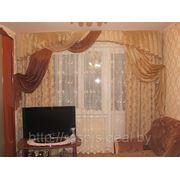 Шторы для гостиной на окно шириной 3 м. фото