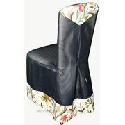 Пошив чехлов декоративных на стул и подбор тканей декоратором фото