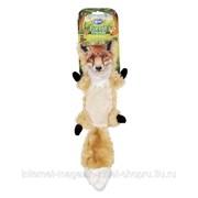 Игрушка для собак мягкая Лесной друг Лиса, жёлтая, 44см DUVO+ фото