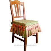Пошив подушек декоративных на стул и подбор тканей декоратором фото