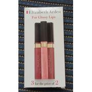 Блеск для губ Elizabet Arden High Shine Lip Gloss №01 Shimmering Pink и №03 Radiant Mauve фото