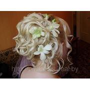 Свадебная прическа 12 фото