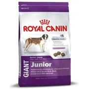 Giant Junior Royal Canin корм для щенков, От 18 до 24 месяцев, Пакет, 4,0кг фото