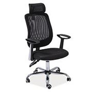 Кресло компьютерное Signal Q-118 (черный) фото