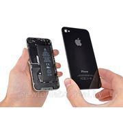 Замена iPhone 4 корпуса (задней крышки), черная/белая фото