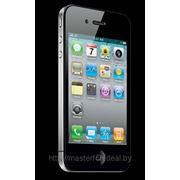 Задняя крышка IPhone 3gs (чен., бел.) (с заменой) фото