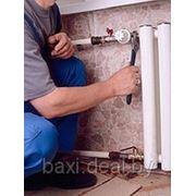 Монтаж систем отопления, холодного и горячего водоснабжения фото