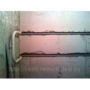 Подводка труб для полотенцесушителя фото
