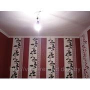 Одноуровневый потолок фото