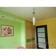 Окраска стен и потолков фото