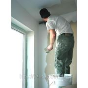 Шпатлевка потолка с зачисткой в 2 слоя фото