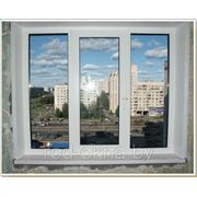 Окно 1700*1700 Окно (ПВХ) платиковое в зал брежневской, хрущевской планировки фото